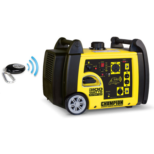 View a Larger Image of Champion 2800/3100W Remote Start iGenerator with RV Ready, CARB