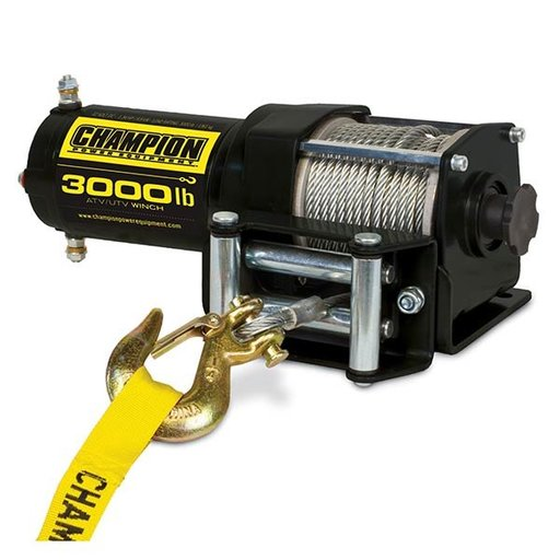 View a Larger Image of Champion 3000 lb. ATV/UTV Winch Kit
