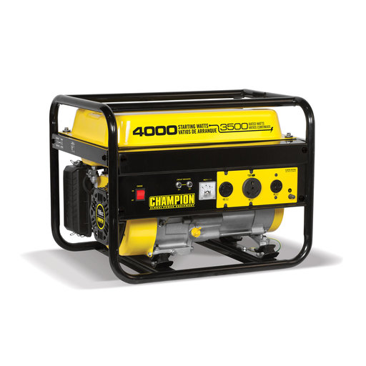 View a Larger Image of Champion 3500-4000W Generator, Model 46596