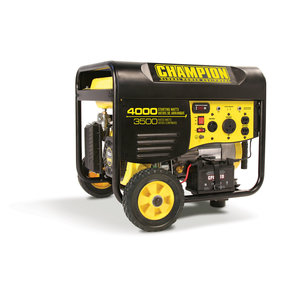 Champion 3500-4000W Generator with Remote Start, CARB Certified, Model 46539