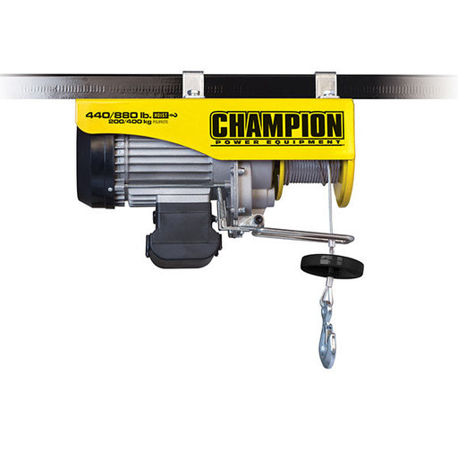 View a Larger Image of Champion 440/880 Remote Control Electric Hoist