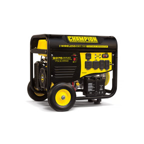 Champion 7500 / 9375W Remote Start Generator RV Ready, CARB