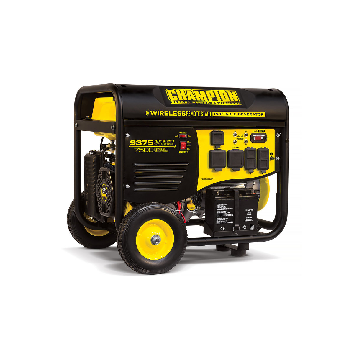 Champion 7500 9375w Remote Start Generator Rv Ready Carb Starter Product View A Different Image Of