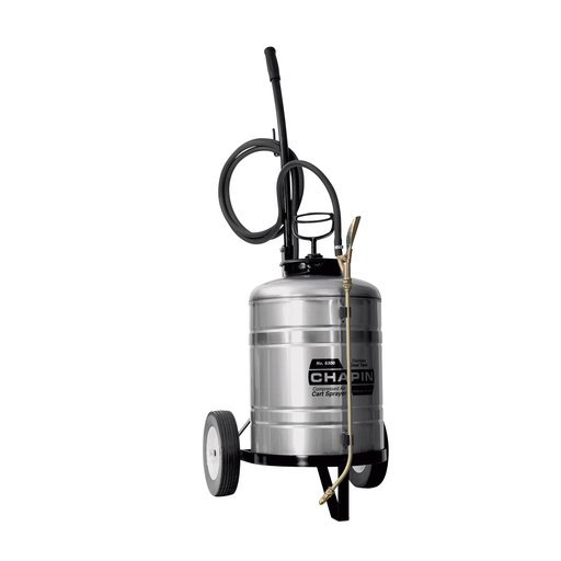 View a Larger Image of Chapin Stainless Steel Sprayer With Cart