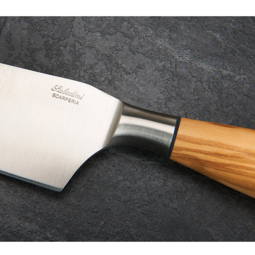 """View a Larger Image of Chef Knife 8"""" Olive Wood Handle"""