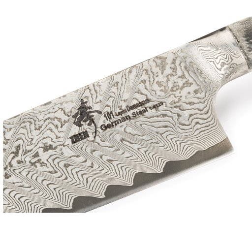 "View a Larger Image of Chef's 101-Layer German Damascus Steel Knife Blank 9-1/2"" L x 3/32"" T (240mm x 2.5mm)"