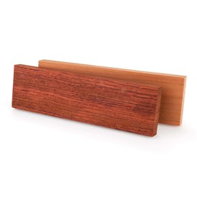 "Cherry 3/8"" x 1-1/2"" x 5"" Wood Knife Scale 2pc"