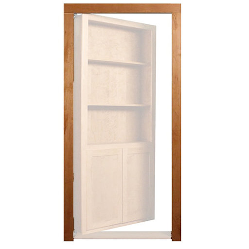 View a Larger Image of Cherry Trim Molding Accessory for 32 in. or 36 in. InvisiDoor Bookcase Door