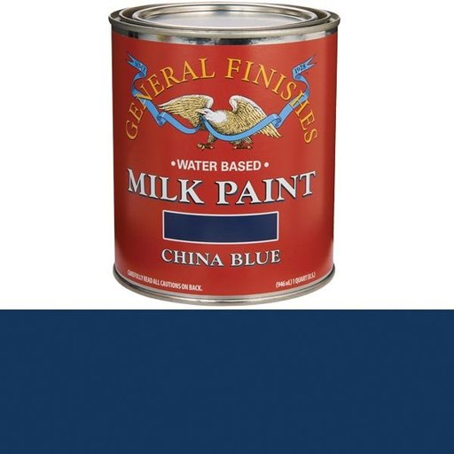 View a Larger Image of China Blue Milk Paint Quart