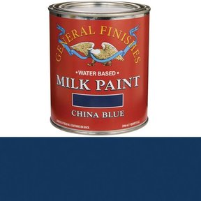 China Blue Milk Paint Quart