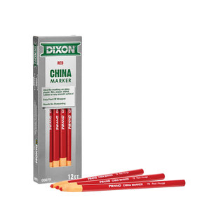 China Markers Red Pack of 12