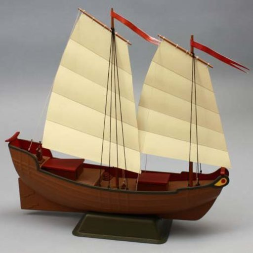 View a Larger Image of Chinese Junk Boat Kit