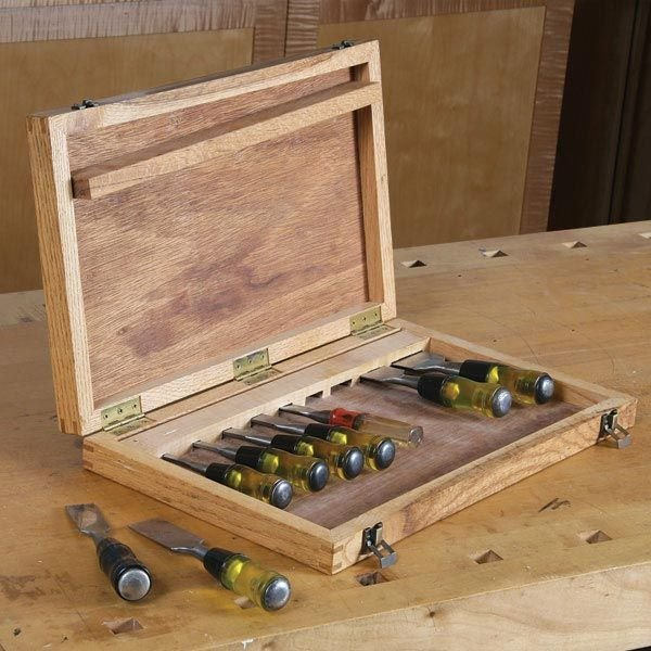View a Larger Image of Chisel Box - Downloadable Plan & Chisel Box - Downloadable Plan