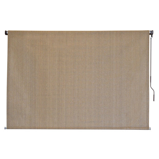 View a Larger Image of Choice Cordless Outdoor Sun Shade, 7' W x 6' L, Canyon