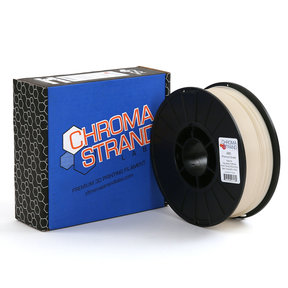 Chroma Strand ABS Filament, Natural, 2.85mm, 1kg reel