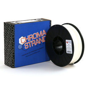 Chroma Strand ABS Filament, White, 2.85mm, 1kg reel