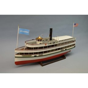 City of Buffalo Lake Steamer Boat Kit