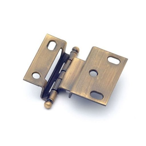 "View a Larger Image of 3/8"" Offset Hinge, Antique Brass, 2541AB"