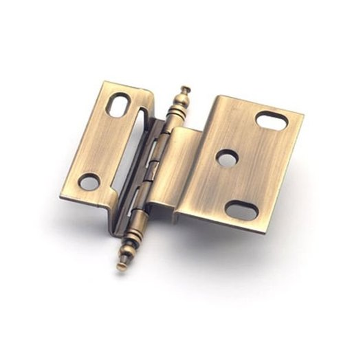 "View a Larger Image of 3/8"" Offset Hinge, Antique Brass, 2542AB"