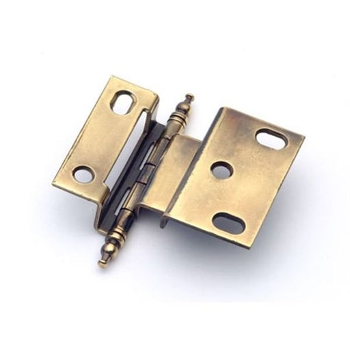 """View a Larger Image of 3/8"""" Offset Hinge, Polished Antique, 2542PA"""