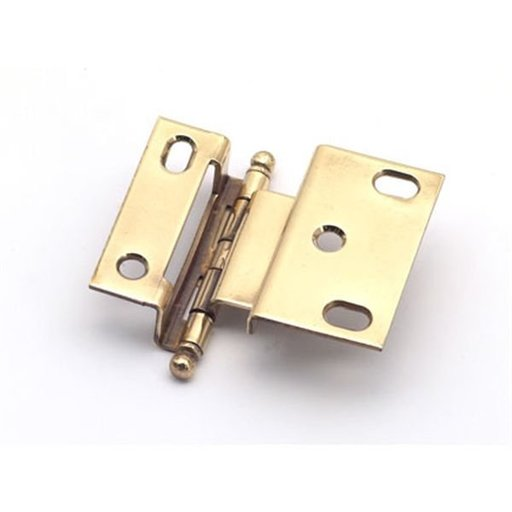 "View a Larger Image of 3/8"" Offset Hinge, Polished Brass, 2541PB"