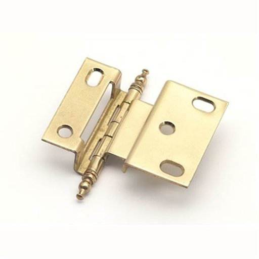 "View a Larger Image of 3/8"" Offset Hinge, Polished Brass, 2542PB"