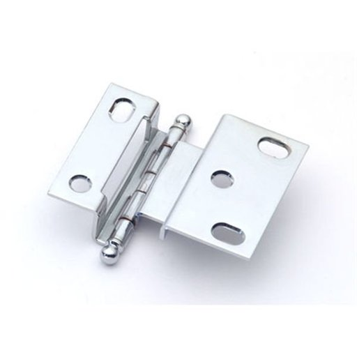 """View a Larger Image of 3/8"""" Offset Hinge, Polished Chrome, 2541PC"""