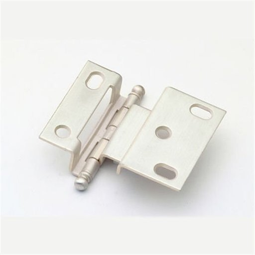 """View a Larger Image of 3/8"""" Offset Hinge, Satin Silver, 2541SS"""
