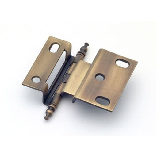 """View a Larger Image of 3/8"""" Offset Hinge, Weathered Brass, 2542WB"""