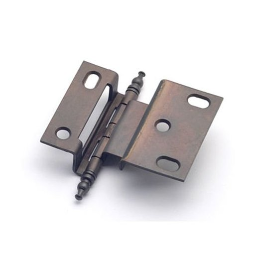 """View a Larger Image of 3/8"""" Offset Hinge, Weathered Bronze, 2542WZ"""