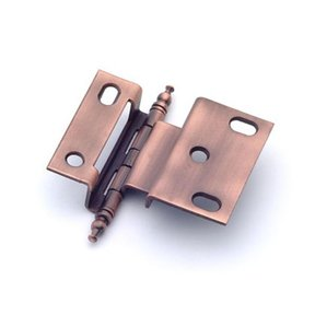 """3/8"""" Offset Hinge, Weathered Copper, 2542WC"""
