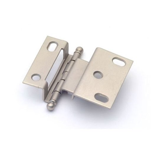 "View a Larger Image of 3/8"" Offset Hinge, Weathered Nickel, 2541WN"
