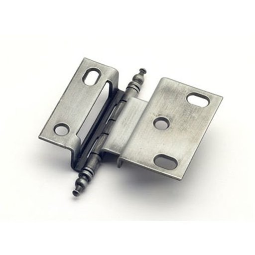 """View a Larger Image of 3/8"""" Offset Hinge, Weathered Pewter, 2542WP"""
