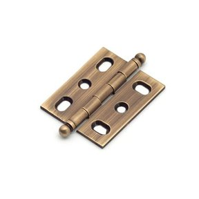 Antique Brass Mortise Hinge, 2571AB