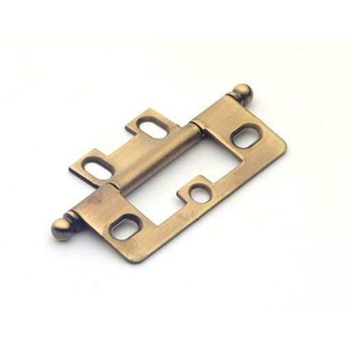 View a Larger Image of Antique Brass Non-mortise Hinge, 2511AB