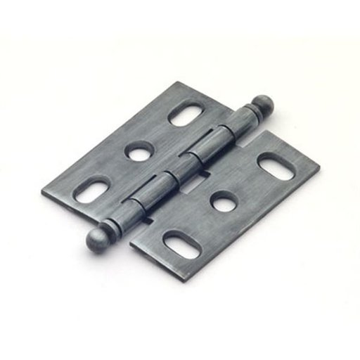 View a Larger Image of Antique Pewter Mortise Hinge, 2501AP