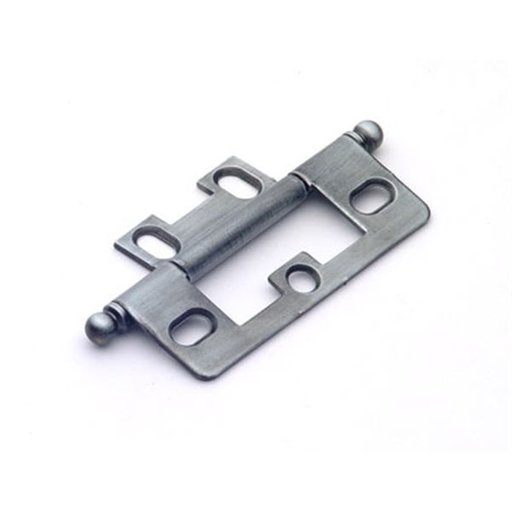 View a Larger Image of Antique Pewter Non-mortise Hinge, 2511AP