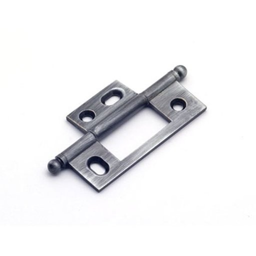 View a Larger Image of Antique Pewter Non-mortise Hinge, 2581AP