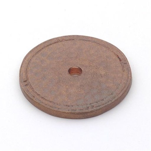 View a Larger Image of Arts & Crafts Backplate, Natural Bronze, 1526NB