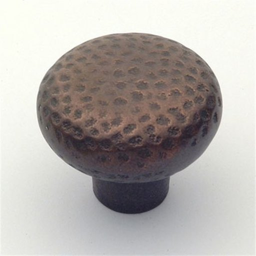 "View a Larger Image of Arts & Crafts Knob, Aged Bronze, 1-5/8"" Diameter, 1521AZ"
