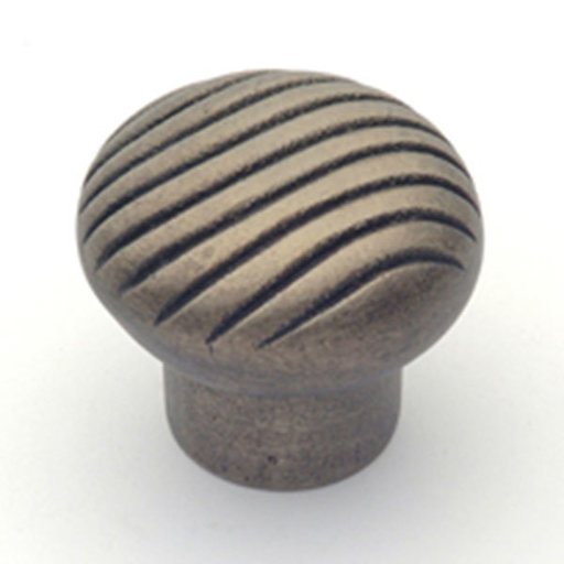 "View a Larger Image of Canyon Knob, Aged Iron, 1-5/8"" Diameter, Model 1665AI"