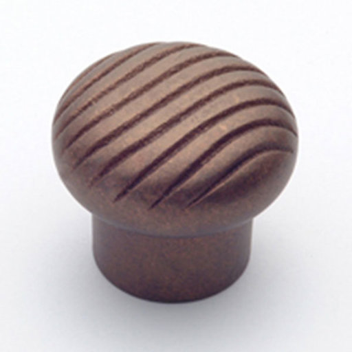 "View a Larger Image of Canyon Knob, Natural Bronze, 1-5/8"" Diameter, 1665NB"