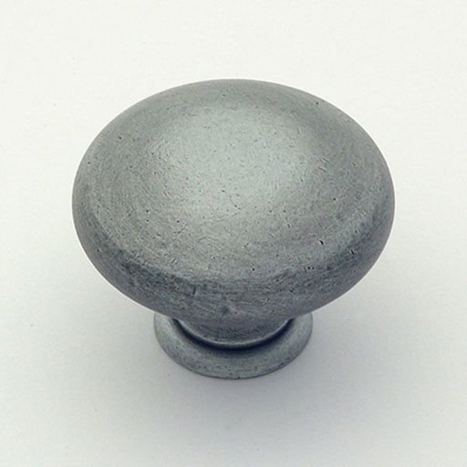 """View a Larger Image of Hatteras Knob, Weathered Pewter, 1-1/2"""" Diameter, 1233WP"""