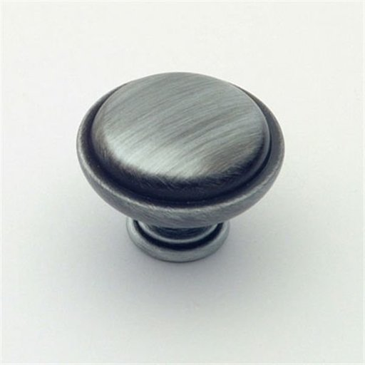 "View a Larger Image of Knob, Antique Pewter, 1-1/4"" Diameter, 1145AP"