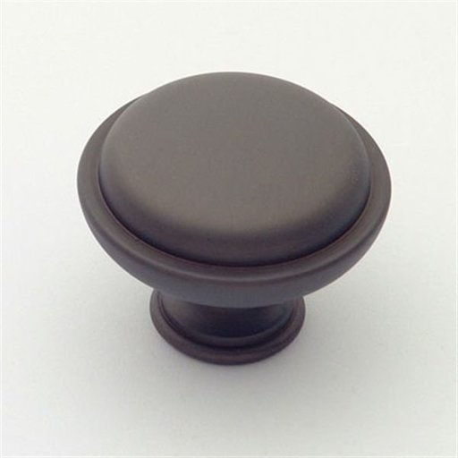 """View a Larger Image of Knob, Oil Rubbed Bronze, 1-1/2"""" Diameter, 1146BZ"""