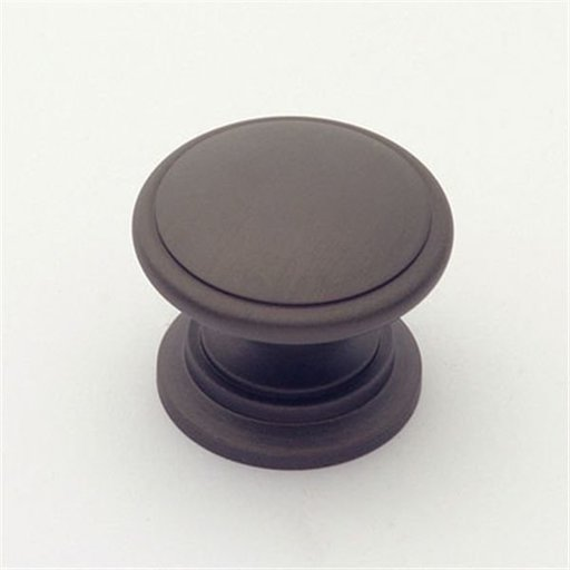 """View a Larger Image of Knob, Oil Rubbed Bronze, 1-1/4"""" Diameter, 1019BZ"""