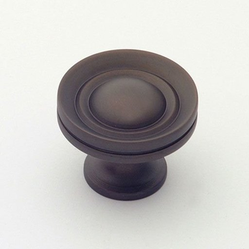 """View a Larger Image of Knob, Oil Rubbed Bronze, 1-1/4"""" Diameter, 1055BZ"""