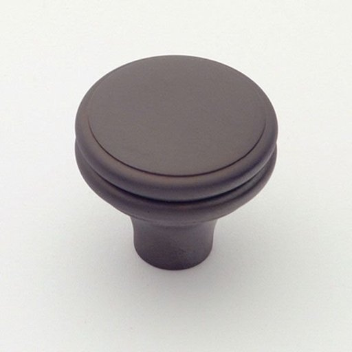 """View a Larger Image of Knob, Oil Rubbed Bronze, 1-1/4"""" Diameter, 1154BZ"""