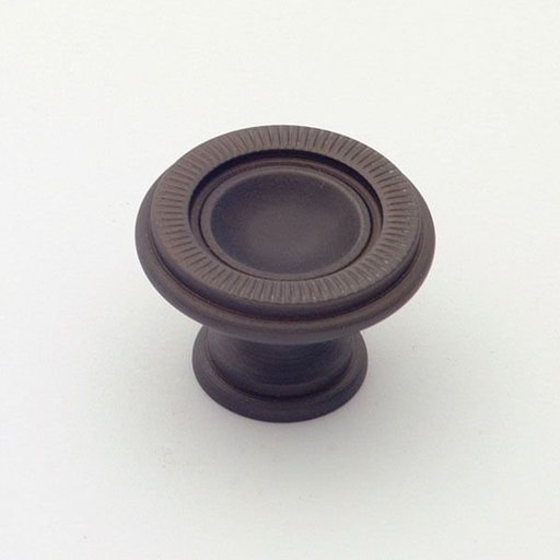 View a Larger Image of Knob, Oil Rubbed Bronze, 30 mm Diameter, 1170BZ