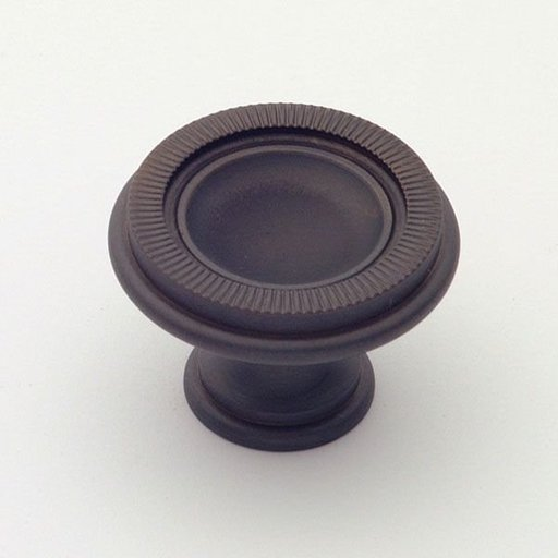 View a Larger Image of Knob, Oil Rubbed Bronze, 35 mm Diameter, 1171BZ